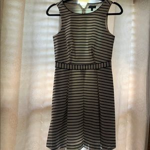 The Limited Blue & White Striped Dress